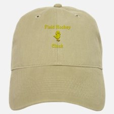 Field Hockey Chick Baseball Baseball Cap