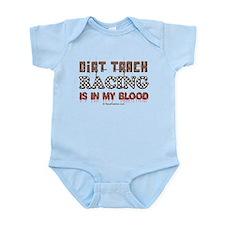 Dirt Track Racing Blood Onesie