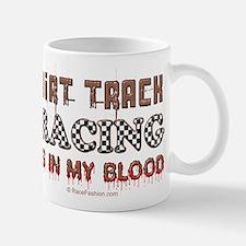 Dirt Track Racing Blood Mug