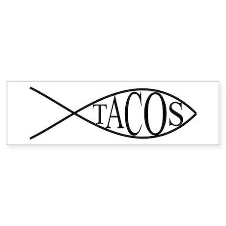 Fish Tacos Sticker (Bumper)