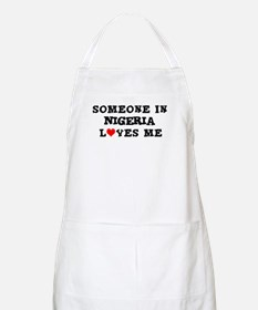 Someone in Nigeria BBQ Apron