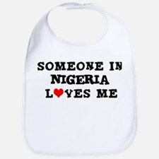 Someone in Nigeria Bib