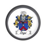 Stagni Coat of Arms Wall Clock