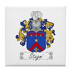 Stagni Coat of Arms Tile Coaster