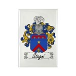 Stagni Coat of Arms Rectangle Magnet