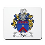 Stagni Coat of Arms Mousepad