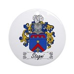 Stagni Coat of Arms Ornament (Round)