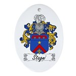 Stagni Coat of Arms Oval Ornament