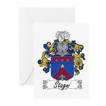 Stagni Coat of Arms Greeting Cards (Pk of 10)