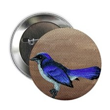 "Scrub Jay 2.25"" Button"