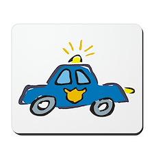 PATROL CAR. Mousepad