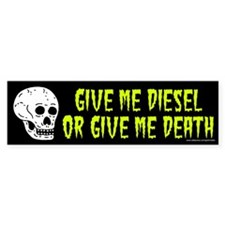 Diesel Or Death (sticker)