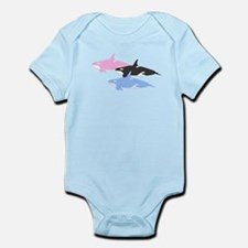 Killer whale kids and Infant Bodysuit