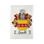 Spinello Family Crest Rectangle Magnet (10 pack)