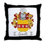 Spinello Family Crest Throw Pillow