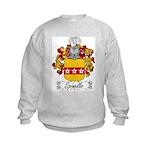 Spinello Family Crest Kids Sweatshirt