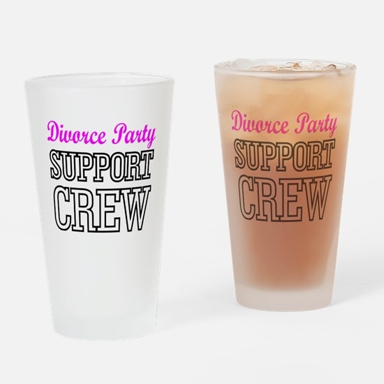 Cute Break up Drinking Glass