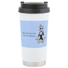 Short List Valentine Stainless Steel Travel Mug