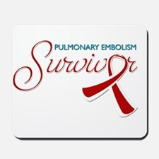 Pulmonary Embolism Survivor Mousepad