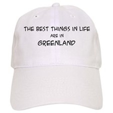 Best Things in Life: Greenlan Baseball Cap