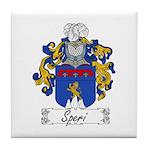 Speri Family Crest Tile Coaster