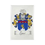 Speri Family Crest Rectangle Magnet (100 pack)