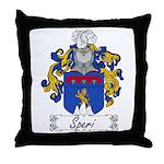 Speri Family Crest Throw Pillow