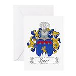 Speri Family Crest Greeting Cards (Pk of 10)