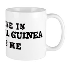 Someone in Equatorial Guinea Mug
