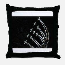 RAF Red Arrows Aero-Art Throw Pillow
