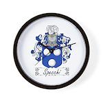 Specchi Coat of Arms Wall Clock