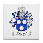 Specchi Coat of Arms Tile Coaster