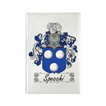 Specchi Coat of Arms Rectangle Magnet