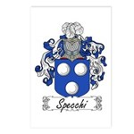 Specchi Coat of Arms Postcards (Package of 8)