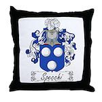 Specchi Coat of Arms Throw Pillow