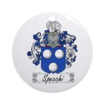 Specchi Coat of Arms Ornament (Round)