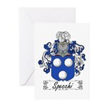 Specchi Coat of Arms Greeting Cards (Pk of 10)