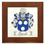 Specchi Coat of Arms Framed Tile