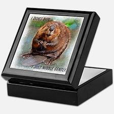 Nibble Gently Beaver Keepsake Box