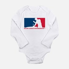 Major League Woodworking Long Sleeve Infant Bodysu