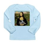 MonaLisa-AussieCattle Pup Long Sleeve Infant T-Shi