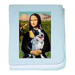 MonaLis-AussieCattleDog baby blanket