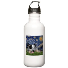 Starry-AussieCattleDogPup Water Bottle