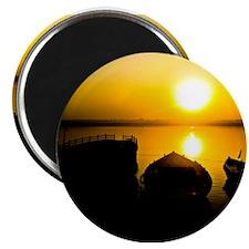 """Sunrise in Varanasi 2.25"""" Magnet (10 pack)"""