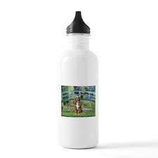 Bridge-Aussie Shep (#5) Water Bottle