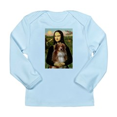 MonaLisa-AussieShep #4 Long Sleeve Infant T-Shirt