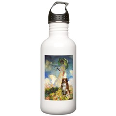 Umbrella-Aussie Shep Water Bottle