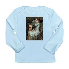 Ophelia-Aussie Terrier Long Sleeve Infant T-Shirt