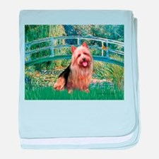 Bridge-AussieTerrier baby blanket
