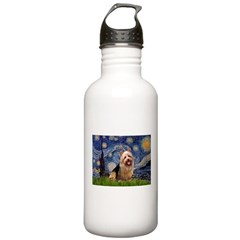 Starry-AussieTerrier Water Bottle